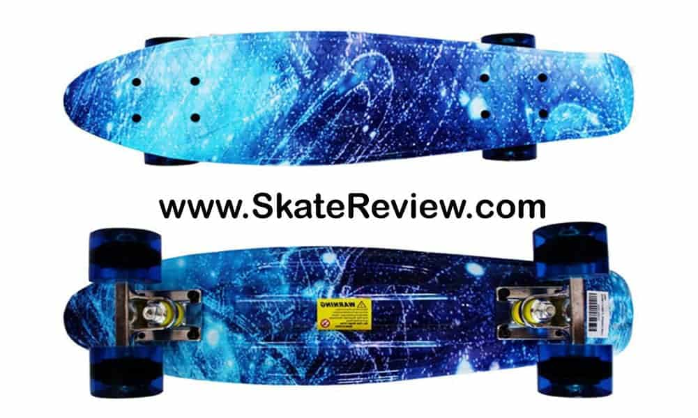 rimable skateboard, suitable skateboard for girls