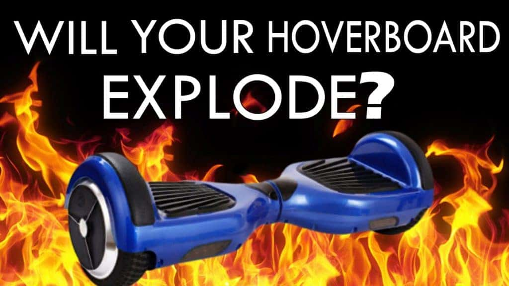 why hoverboard explodes