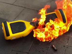 hoverboard explosion, why hoverboard explode