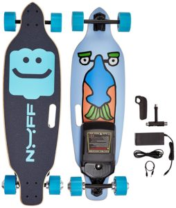 NUFF Electric Longboard Skateboard