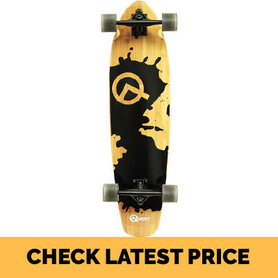Quest Rorshack Bamboo Cruiser Longboards Review