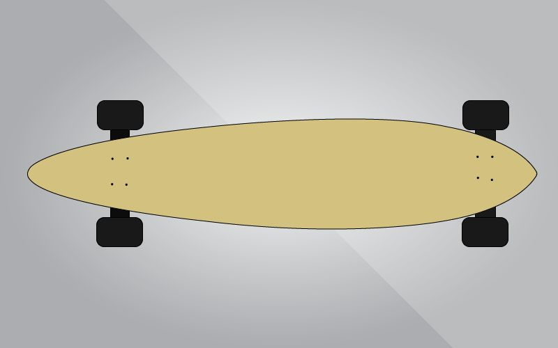 different types of skateboards-Classic Longboard